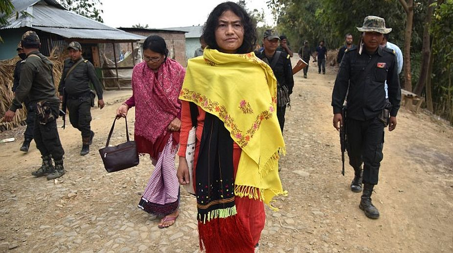 Activist files objection against Irom Sharmila's marriage