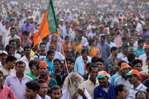 Early trends show big win for BJP in Uttar Pradesh civic polls