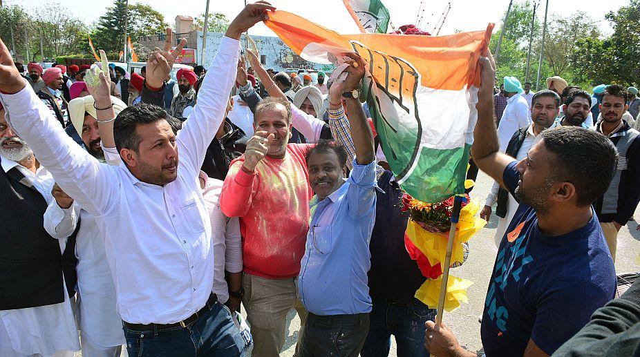 Congress. Municipal elections, Punjab elections, poll survey