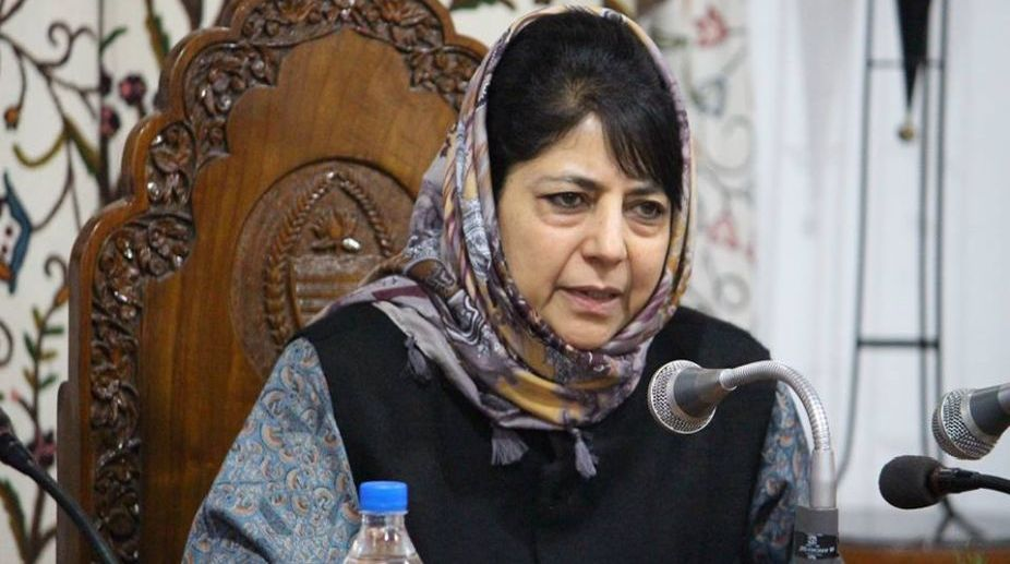 Mehbooba Mufti, local youths, militancy