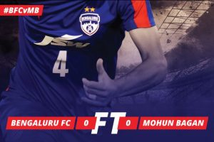 Mohun Bagan, Bengaluru play goalless draw in I-League