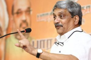 Goa CM Parrikar blames media for blowing up Mhadei, beef controversy