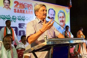 Manohar Parrikar appointed new Goa Chief Minister