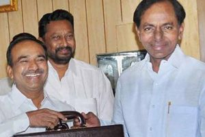 Telangana CM Chandrasekhar Rao re-elected TRS President