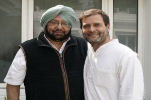 Capt Amarinder Singh invites Rahul to attend swearing-in