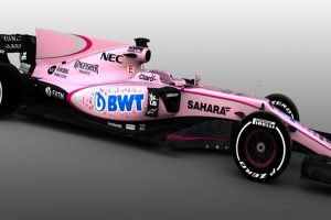 Formula 1: Force India's startling colour choice for new car