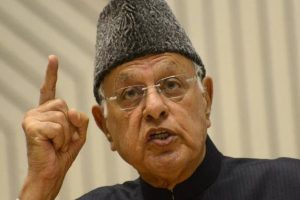 Farooq appeals to India, Pakistan for peace on borders