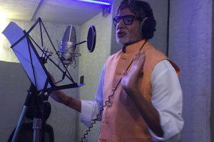 Amitabh Bachchanon recording spree, sings about Brahmaputra
