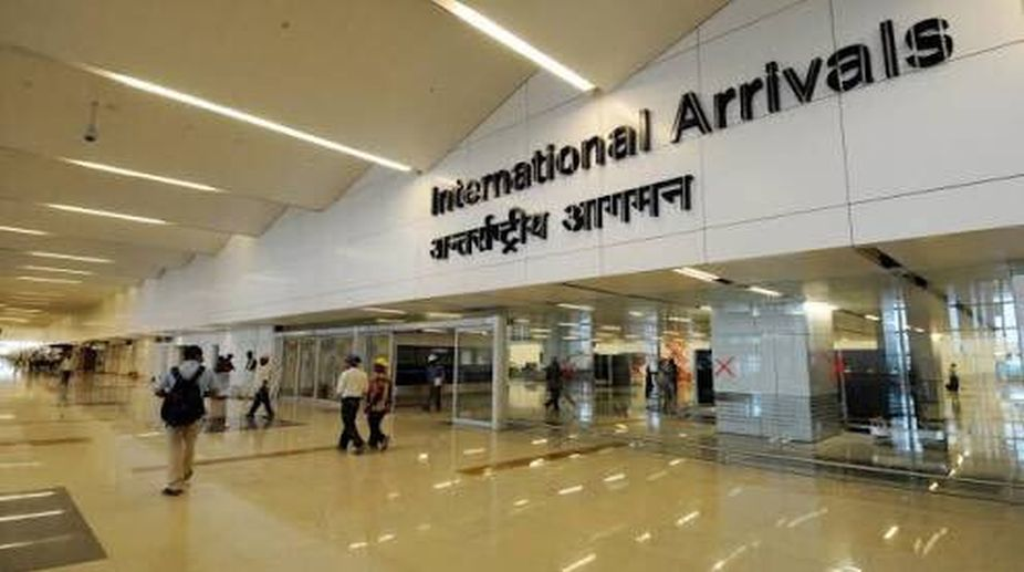 Swiss man, Indira Gandhi International Airport