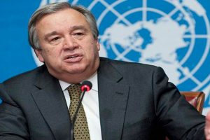 Guterres appeals for ceasefire, peace talks in Syria