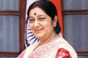 Rajya Sabha gives warm welcome to Sushma Swaraj