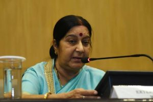 Sushma seeks report about Hyderabad woman stranded in Pakistan