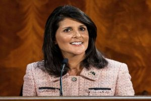 Can't allow 'bad actors' to have nuclear weapons, says Nikki Haley