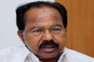 Congress backing JD(S) to keep BJP out of power: Veerappa Moily