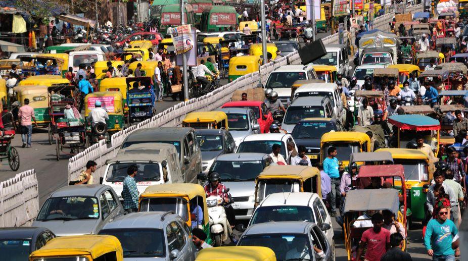 Traffic New Delhi