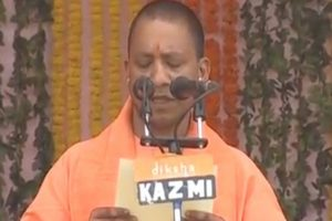Yogi Adityanath sworn in as new Uttar Pradesh CM