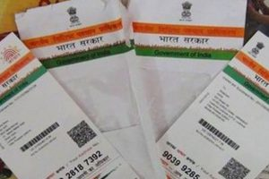 Link Aadhaar with PAN using SMS: I-T dept