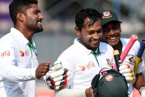 Bangladesh beat Sri Lanka to win 100th Test