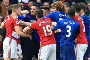 English Premier League: Manchester United accused after tunnel brawl