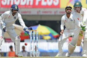 India vs Australia 3rd Test Day 5: Handscomb, Marsh stabilise Australia after early blows