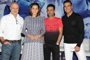 'Naam Shabana' cast in Delhi to promote the film