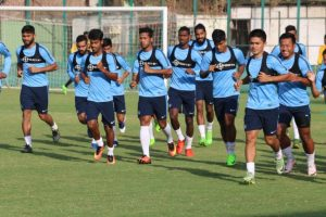 Indian football team takes on Cambodia in friendly international