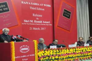 Third edition of Rajya Sabha at Work released