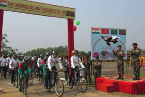 India-Bangladesh joint Army cycling expedition flagged off