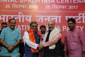 Congress veteran SM Krishna joins BJP