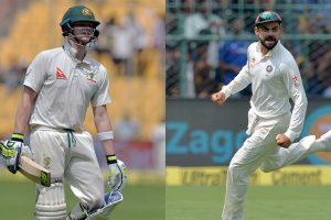 India vs Australia: Kohli, Smith lock horns as Dharamsala makes blockbuster Test debut