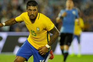 Brazil ride Paulinho hattrick tothrash Uruguay in World Cup qualifier