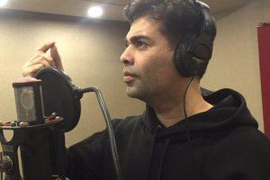 Singing for Shekhar Ravjiani was an honour: Karan Johar