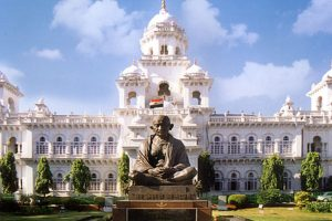 BJP lawmakers suspended from Telangana assembly