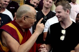 Steve Smith seeks advice from Dalai Lama ahead of Dharamsala Test