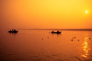 'Time I spent on the Ganges will stay with me forever'