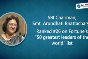 SBI chief Bhattacharya among top 50 in Fortune's greatest leaders