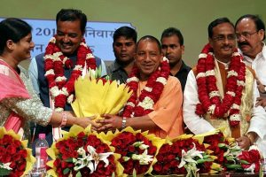 Yogi, four others elected unopposed to UP Legislative Council