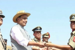 BSF gets first woman field officer