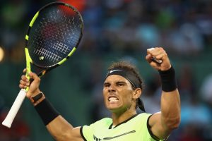 Miami Open: Rafael Nadal recovers from horror start to reach 4th round
