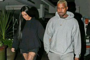 Kim Kardashian, Kanye West step out for romantic dinner
