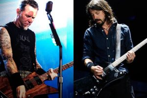 Dave Grohl replaces James Hetfield for cancer awareness gig