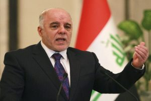 Iraqi PM calls for joint administration with Kurds for disputed areas