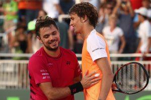 Miami Open: Roger Federer, Rafael Nadal advance but Stanislas Wawrinka stunned