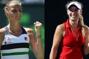 Miami Open: Pliskova, Wozniacki set up semi-final showdown