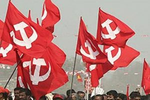 Left parties stage protest against GST meet