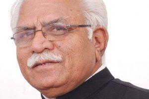 Haryana CM Khattar advocates cashless transactions at shrines