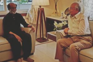 Malaysian PM meets superstar Rajinikanth