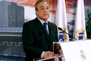 Real Madrid's values based on humility, respect: Florentino Perez