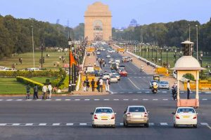 People in Delhi breathe clean air in nearly a year