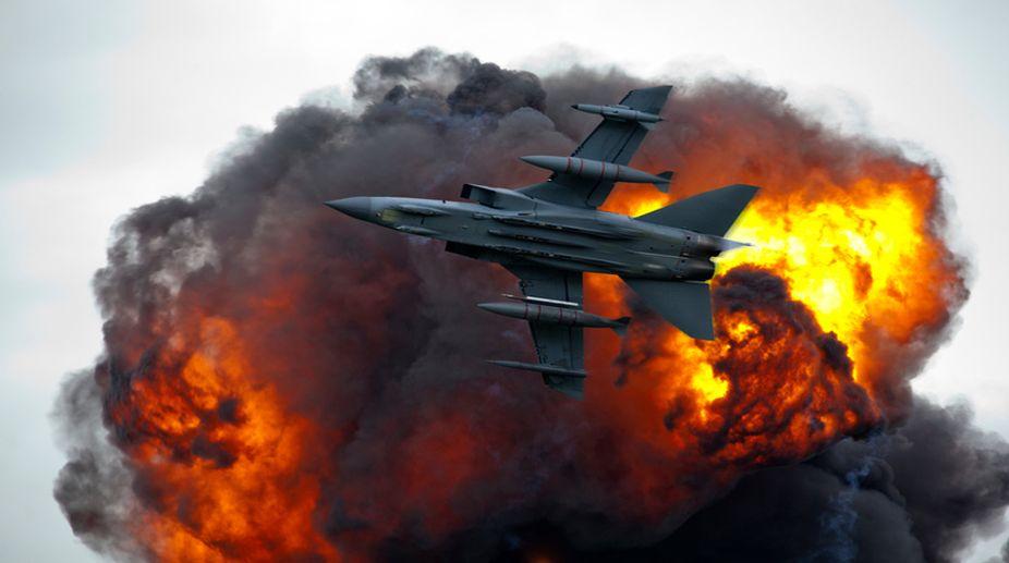Israeli airstrike, Gaza border, Palestinian